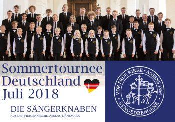 Sommertour in Deutschland, Juli 2018
