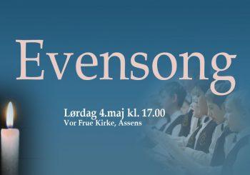 Evensong i Vor Frue Kirke – Befrielsesdagen 4. maj